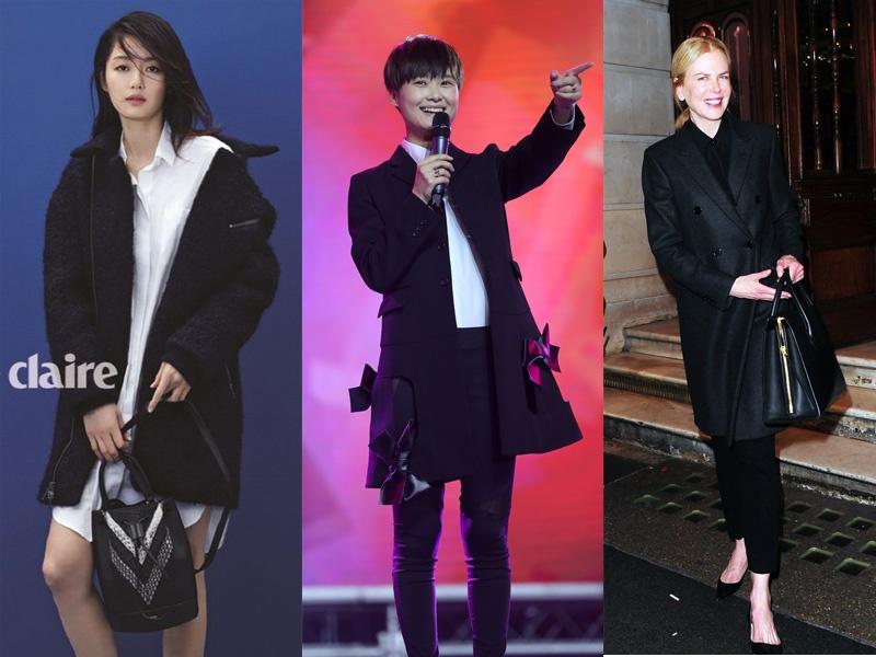 明星示范 秋冬还需要哪几件大衣 - 嘉人marieclaire - 嘉人中文网 官方博客
