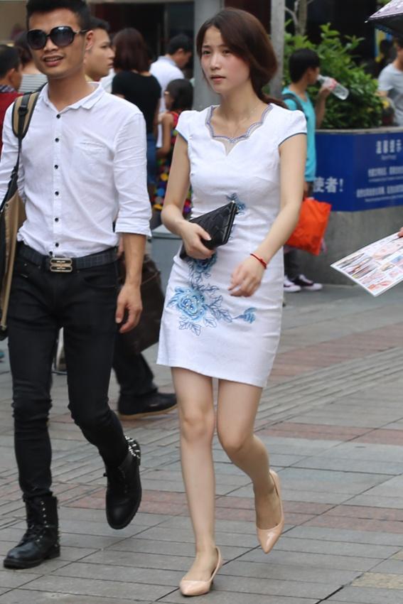 深圳街拍:照片三组  请你欣赏 - 闲云野鹤 - 闲云野鹤的博客