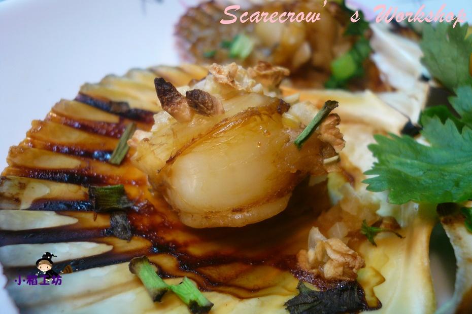 【烧烤贝类】蒜香烤扇贝 - 慢美食 - 慢 美 食