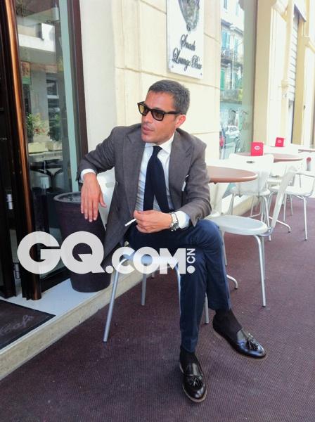 又一位意大利绅士 他只爱复古表款与搭配 - GQ智族 - GQ男性网官方博客