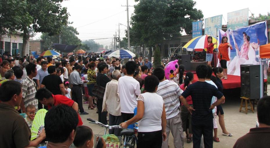 【原创】【民俗探幽二】新挑河李屯村的二月会 - lurenlaobao2009 - lurenlaobao2009的博客