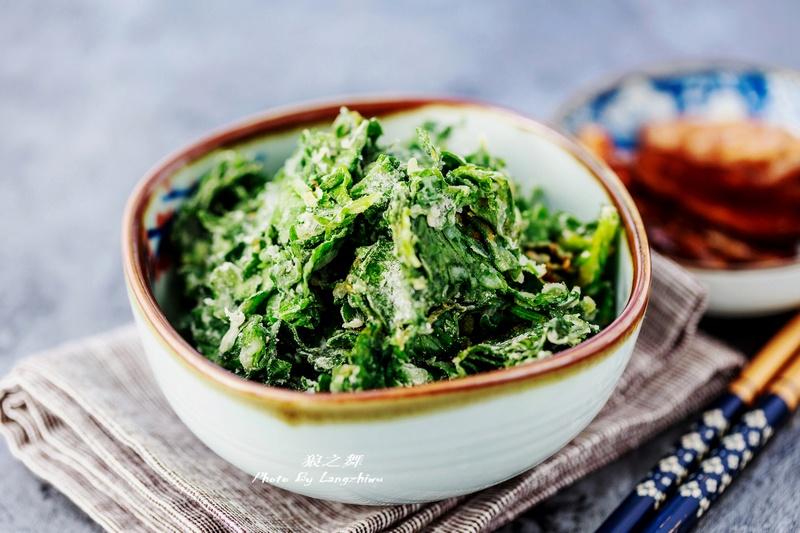 芹菜叶这么做,清血脂降血压,上桌都抢着吃-狼之舞 - 荷塘秀色 - 茶之韵