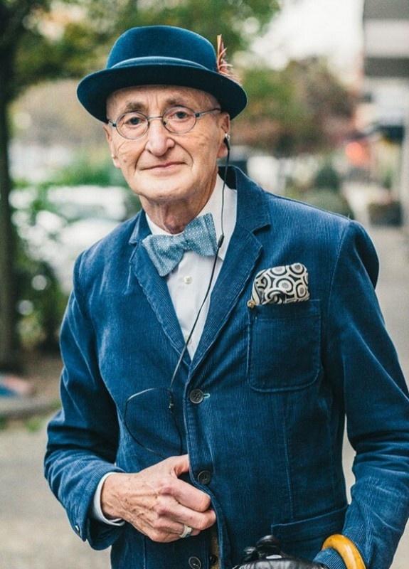 老绅士的品格!全球年龄最大的时尚潮男 - 嘉人marieclaire - 嘉人中文网 官方博客