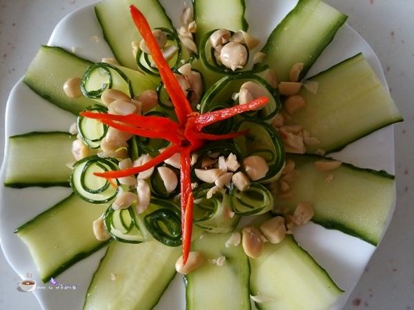 沙拉汁凉拌黄瓜卷 - 叶子的小厨 - 叶子的小厨