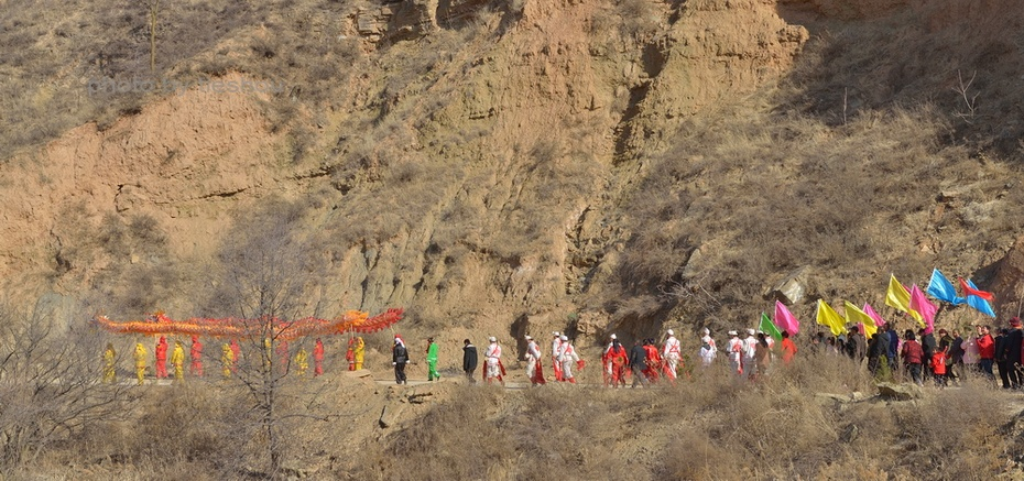 陕北风情(6)——祭祀在初八_图1-6