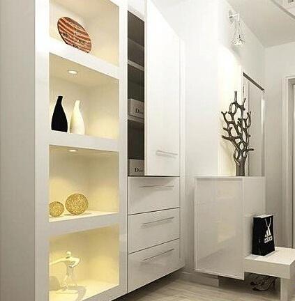 把鞋柜搬到玄关 玄关鞋柜装修效果图欣赏