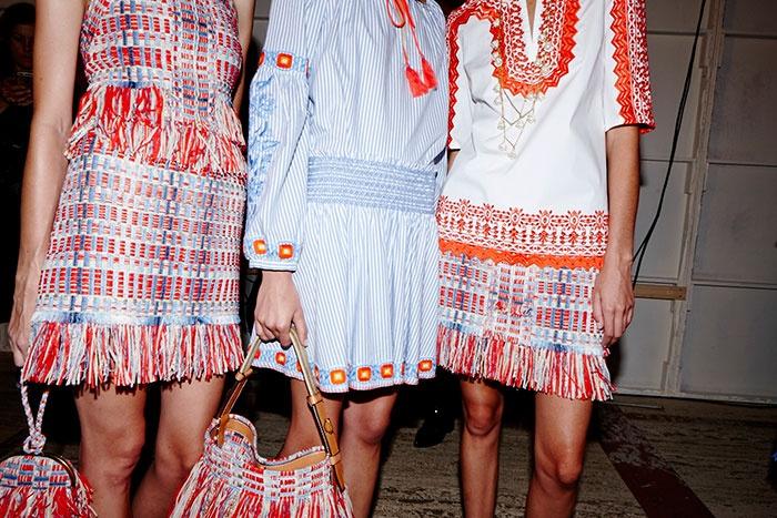 时装周 | 美总是在无意间被发现-Tory Burch 2016春夏 - toni雌和尚 - toni 雌和尚的时尚经