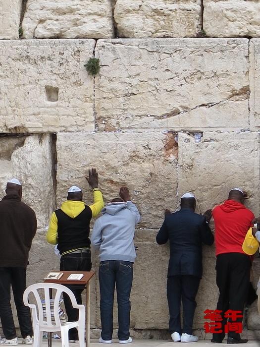 哭泣的西墙--耶路撒冷(1)_图1-11