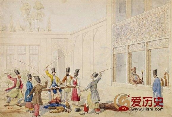 穆斯林世界的独特刑罚:抽脚心 - 爱历史 - 爱历史---老照片的故事