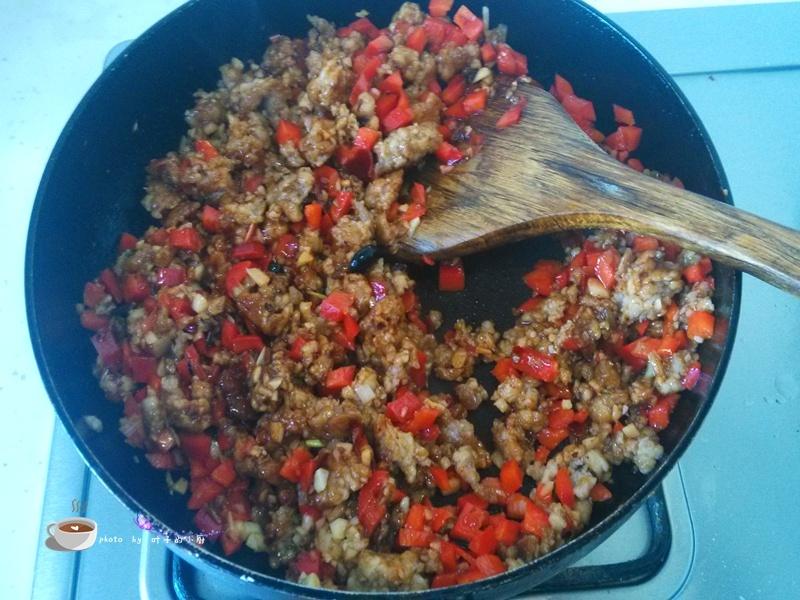 肉末烤茄子 - 叶子的小厨 - 叶子的小厨