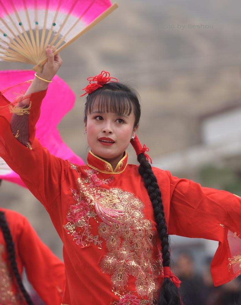 陕北风情(20)—— 印斗大秧歌_图1-75