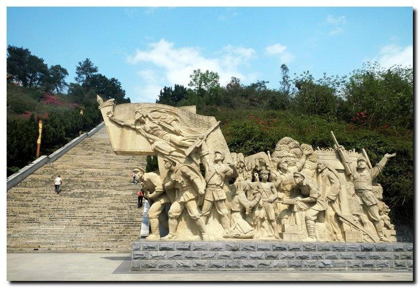 百色起义纪念公园(下)-乐龄游老年旅游网塑料模具v公园公差图片