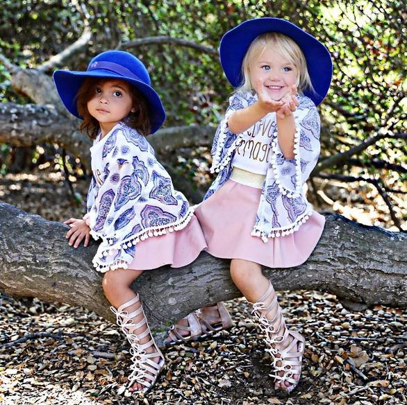 萌化了 | 两岁萌娃的心机闺蜜装 - toni雌和尚 - toni 雌和尚的时尚经