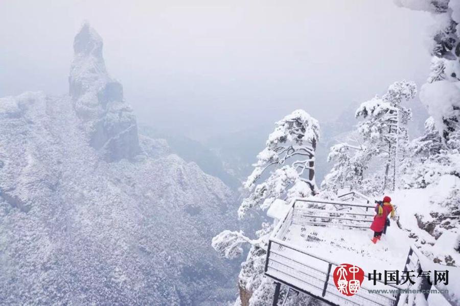 霸王级寒潮下的中国景象3 - 古藤新枝 - 古藤的博客