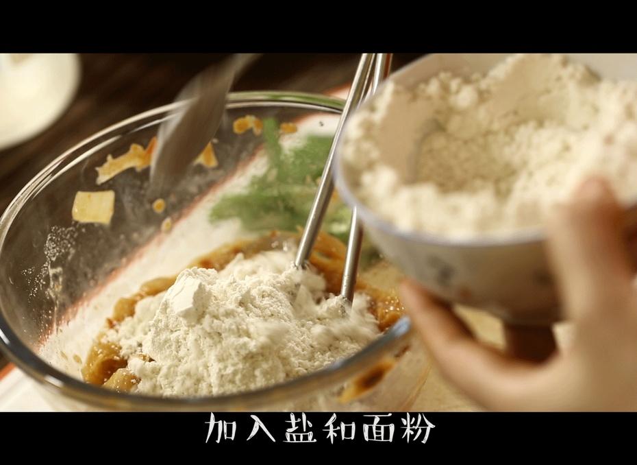 韩国过年才能吃到的泡菜煎饼,你知道怎么做嘛? - 蓝冰滢 - 蓝猪坊 创意美食工作室