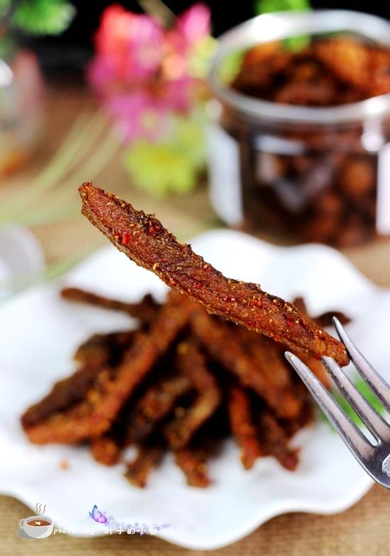 烤箱版麻辣牛肉干 - 叶子的小厨 - 叶子的小厨