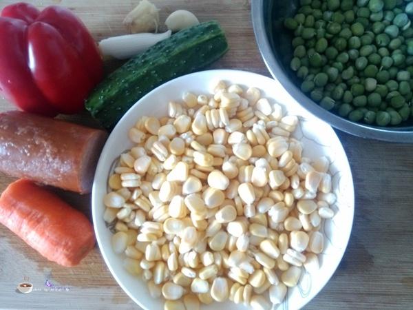 田园小炒 - 叶子的小厨 - 叶子的小厨