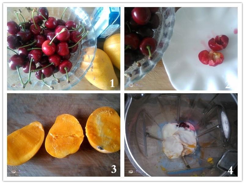 酸奶水果冰棍 - 叶子的小厨 - 叶子的小厨