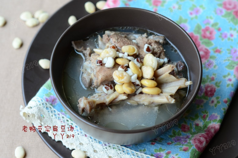 适合暴雨天喝的健脾祛湿汤——【老鸭芡实扁豆汤】 - 慢美食 - 慢 美 食