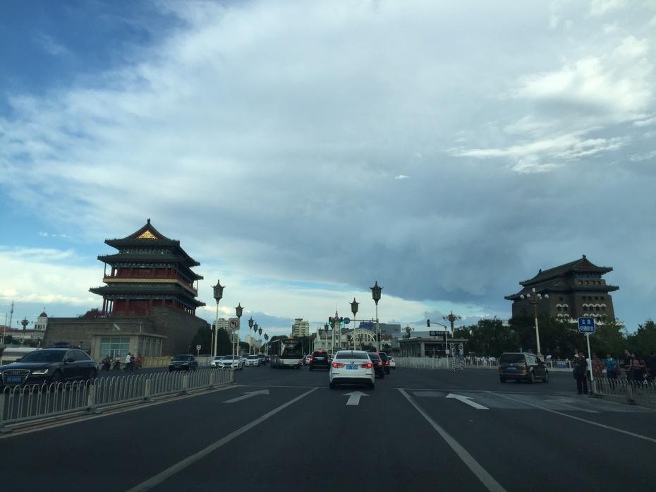 秋日北京别样蓝 - 余昌国 - 我的博客