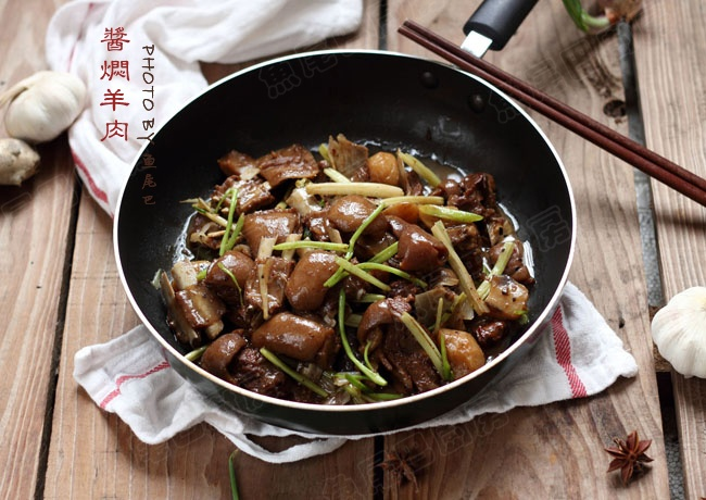 酱焖羊肉---南北通吃的冬日暖身下饭菜 - 草原恋 - 草原恋的图片博客
