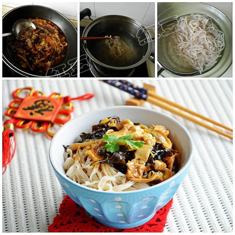 头伏饺子二伏面---老北京打卤面 - 慢美食博客 - 慢美食博客 美食厨房