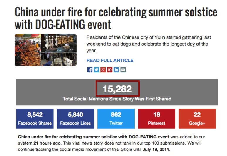 玉林狗肉节太损中国形象了 - 心路独舞 - 心路独舞