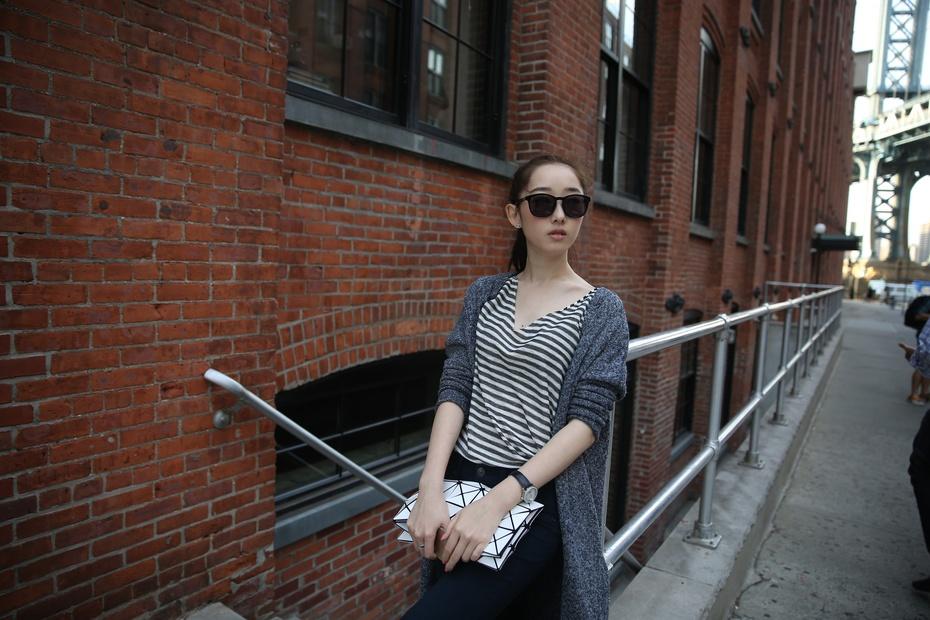 【纽约·梦游记】蒋梦婕布鲁克林一日游 MK高圆圆女神现身惹围观 - 嘉人marieclaire - 嘉人中文网 官方博客