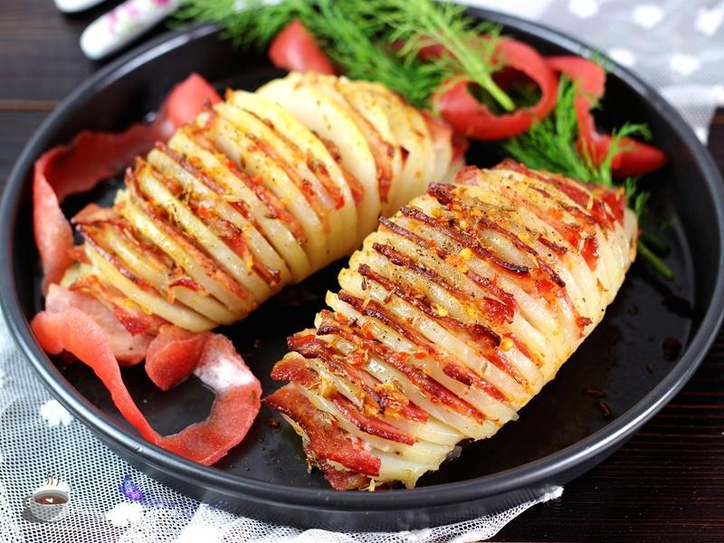 培根烤土豆 - 慢美食博客 - 慢美食博客 美食厨房
