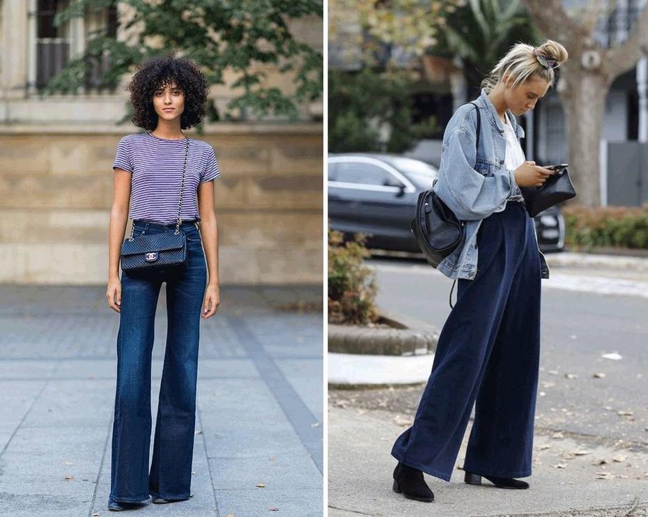 搭配经 | 这个单品让所有女星人手一件-阔腿裤 - toni雌和尚 - toni 雌和尚的时尚经