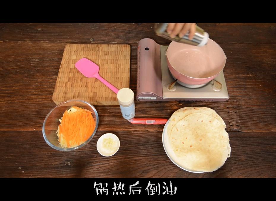 五分钟教你做卷饼,远离路边摊,早餐不用愁 - 蓝冰滢 - 蓝猪坊 创意美食工作室