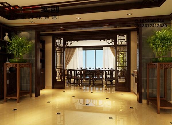 平米-木色新中式风格别墅