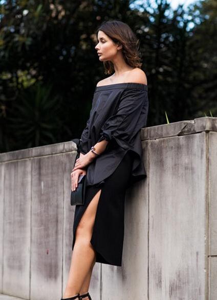谁说夏天就要跟黑色说NO?女神都爱All Black造型 - 嘉人marieclaire - 嘉人中文网 官方博客