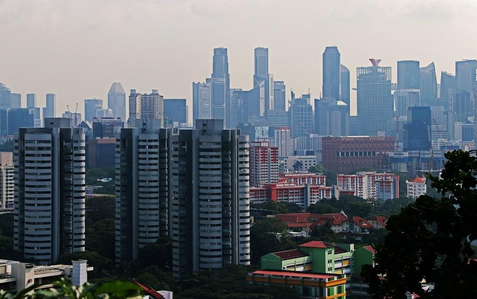 海湾边初见鱼尾狮,花芭山俯瞰新加坡--新马游之一 - 侠义客 - 伊大成 的博客
