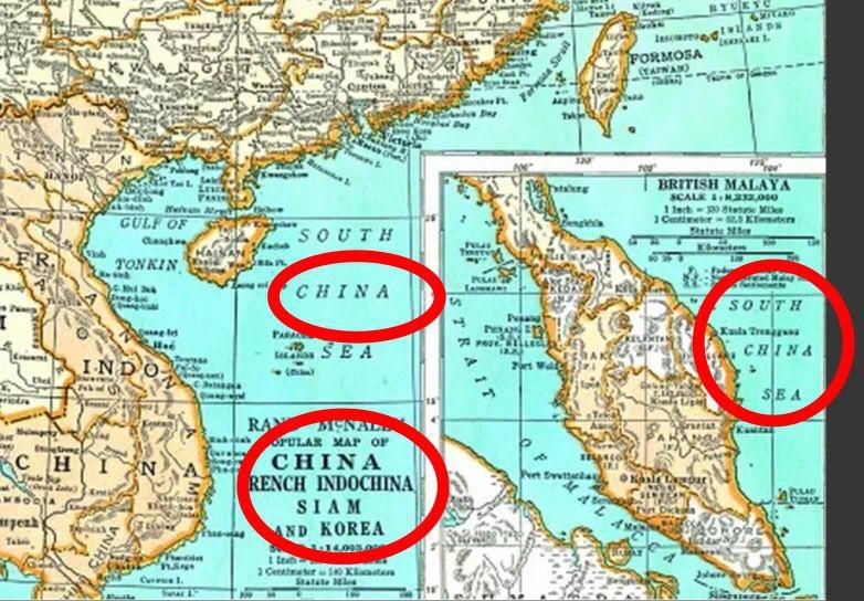 [转载]午评:美国地图证明南海是中国的