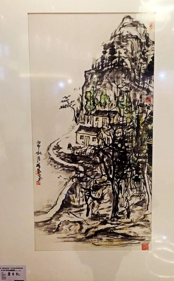 秦皇岛市举办2016中国名家书画作品展