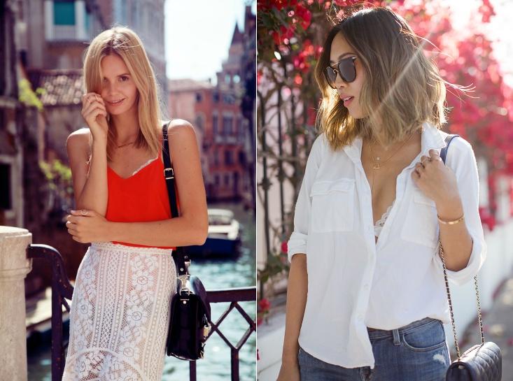 新技能get√ | 夏天如何优雅地露BRA - toni雌和尚 - toni 雌和尚的时尚经