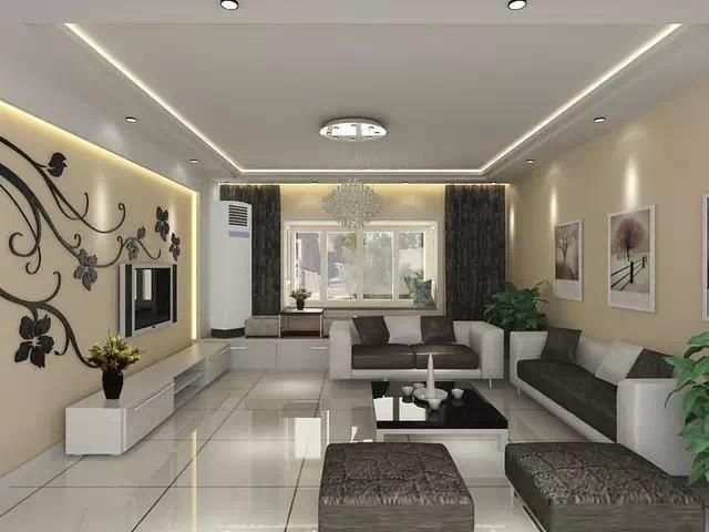 电视背景墙太美了,你的客厅就要这么布置!