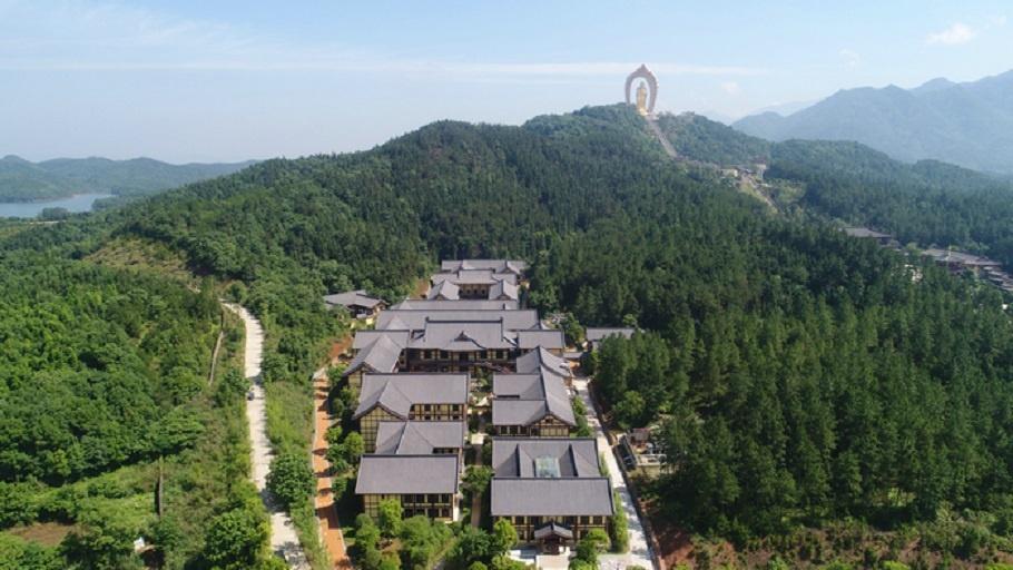 中国佛教净土宗发源地:庐山东林寺图片