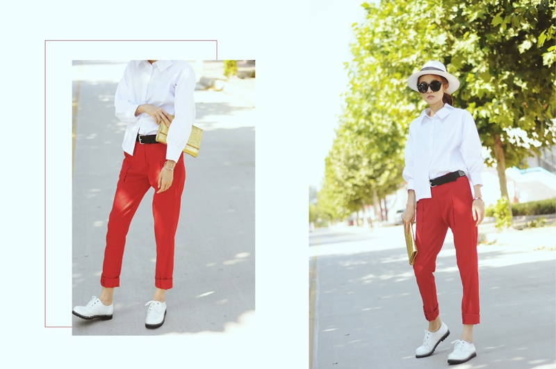 【Rubyの搭配】开学季的白衬衫搭配 - ruby - Ruby.