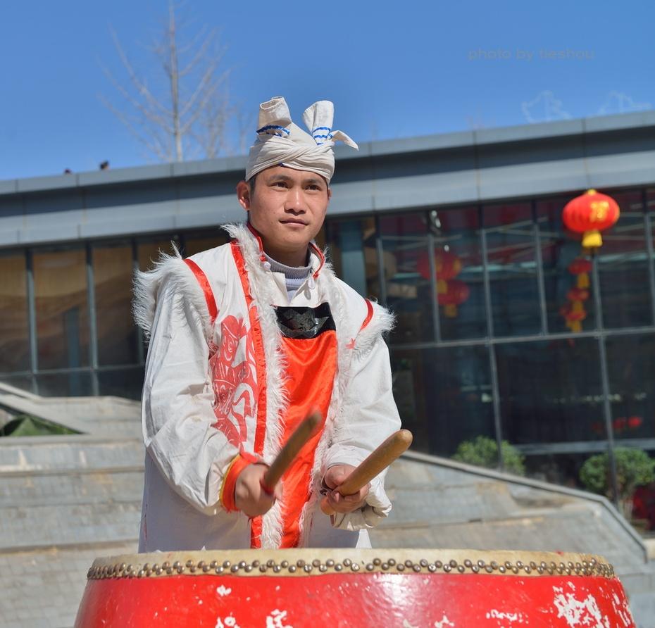 陝北風情(4)—— 看安塞腰鼓_圖1-3