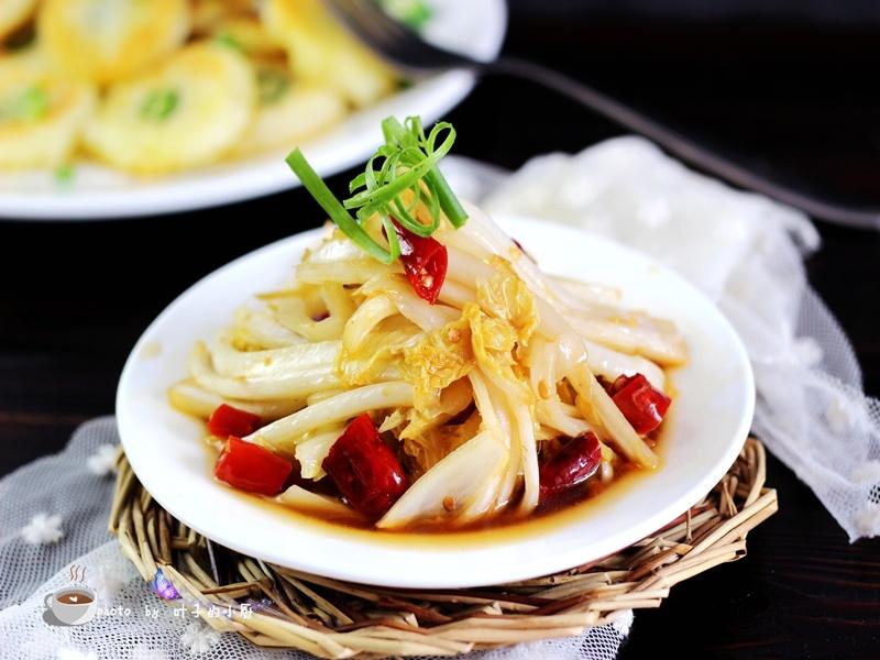 蔬菜的美味--酸辣白菜 - 叶子的小厨 - 叶子的小厨