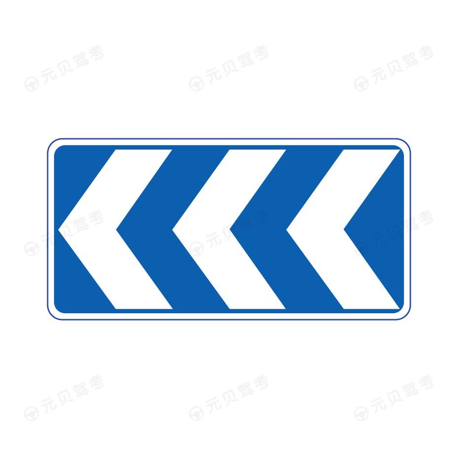 线形诱导标-组合使用2