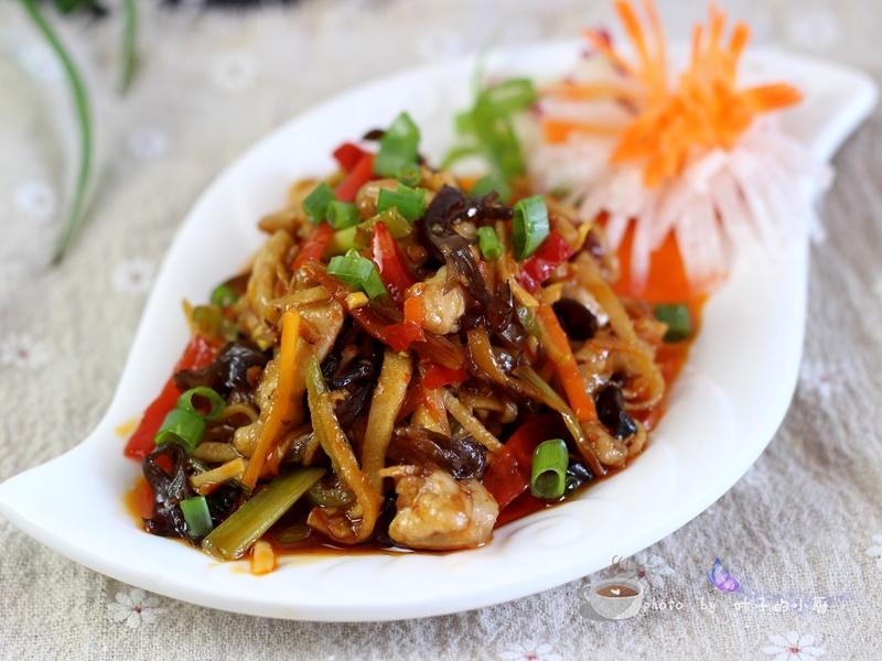 鱼香肉丝 - 慢美食博客 - 慢美食博客 美食厨房