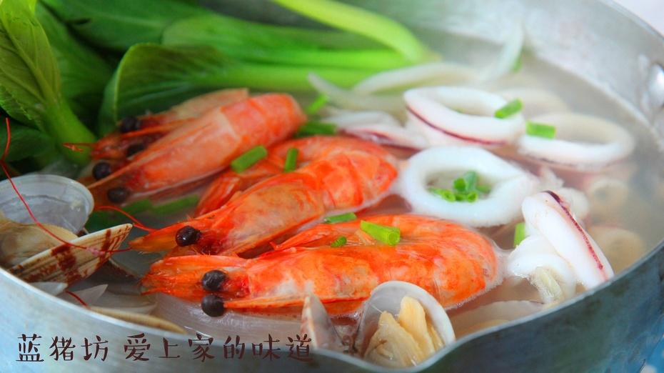 秋季海鲜怎么吃?这样和面条搭配吃出新花样!全家都爱吃 - 蓝冰滢 - 蓝猪坊 创意美食工作室