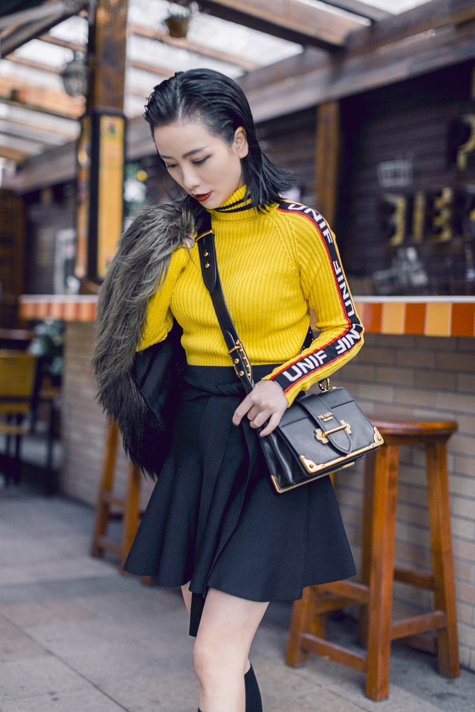 【妮儿の私服日记】 就是要帅着过新年~ - Nikki妮儿 - Nikkis Fashion Blog