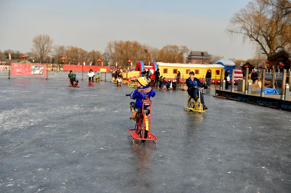 国子监,鼓楼,烟袋斜街,什刹海,这些才是老北京的风采,今年北京的冬天