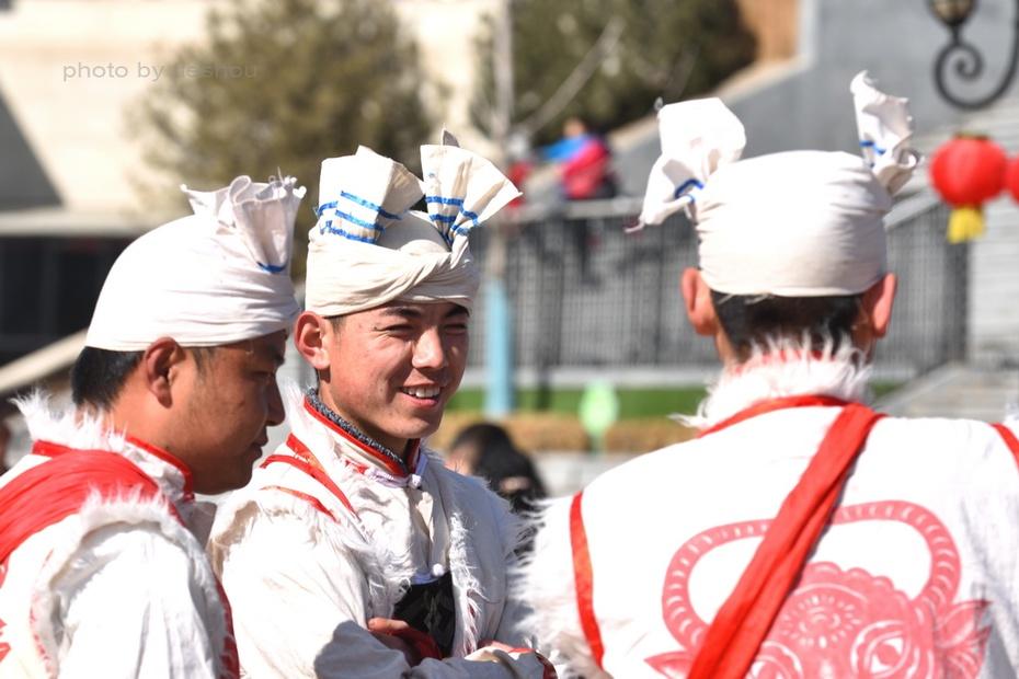 陝北風情(4)—— 看安塞腰鼓_圖1-2