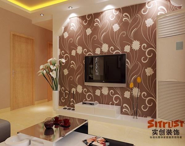区125平米 现代简约风格全包装修案例效果图 济南实创装饰