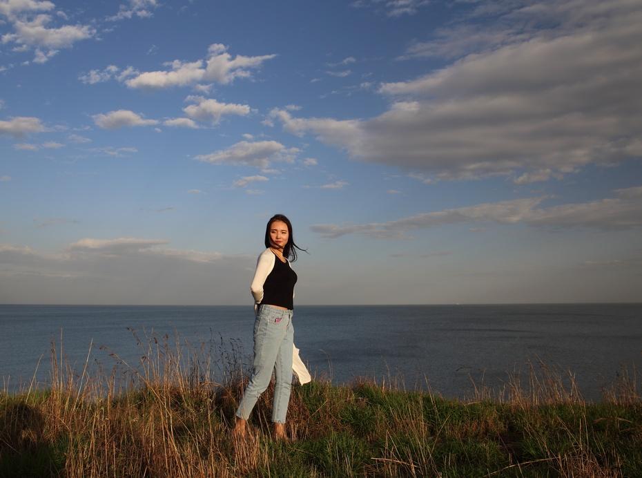 海边头像是风景照片